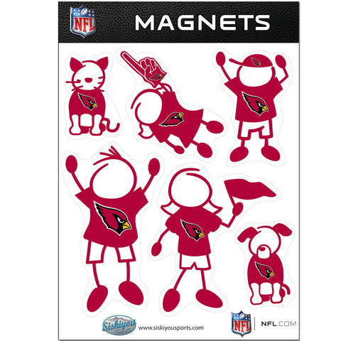 Arizona Cardinals Family Magnet Set