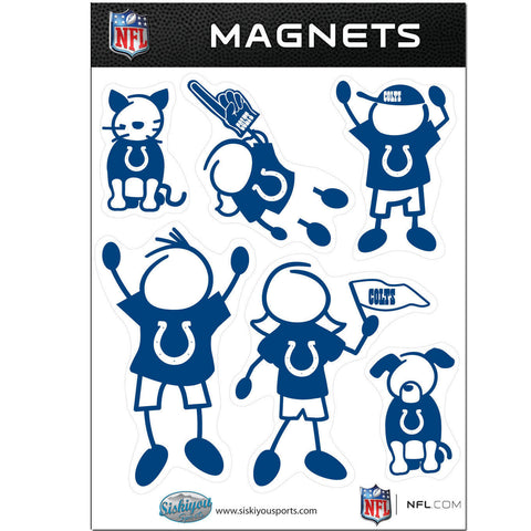 Indianapolis Colts Family Magnet Set