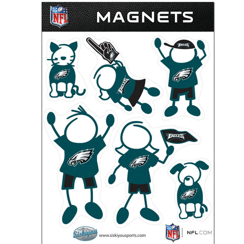 Philadelphia Eagles Family Magnet Set