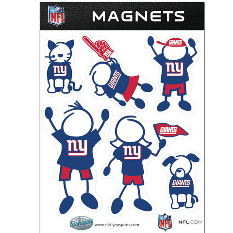 New York Giants Family Magnet Set