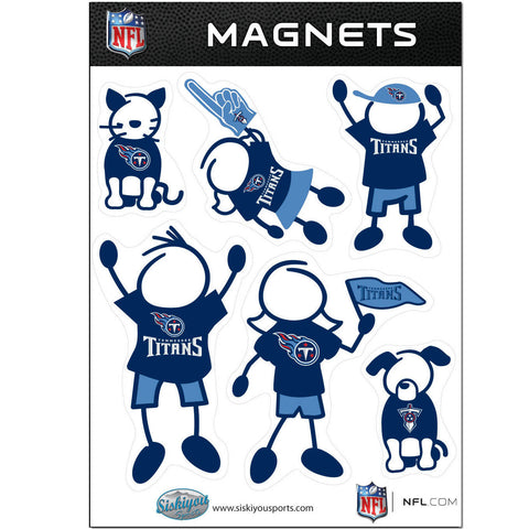 Tennessee Titans Family Magnet Set