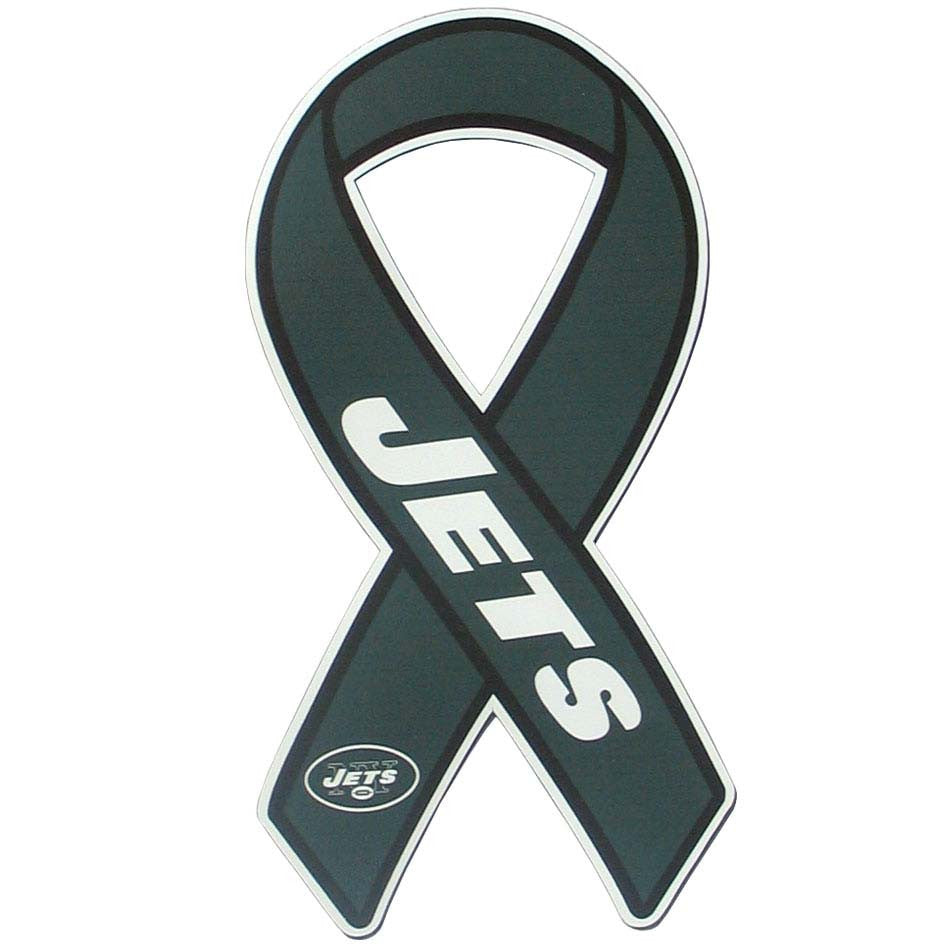 New York Jets Ribbon Magnet