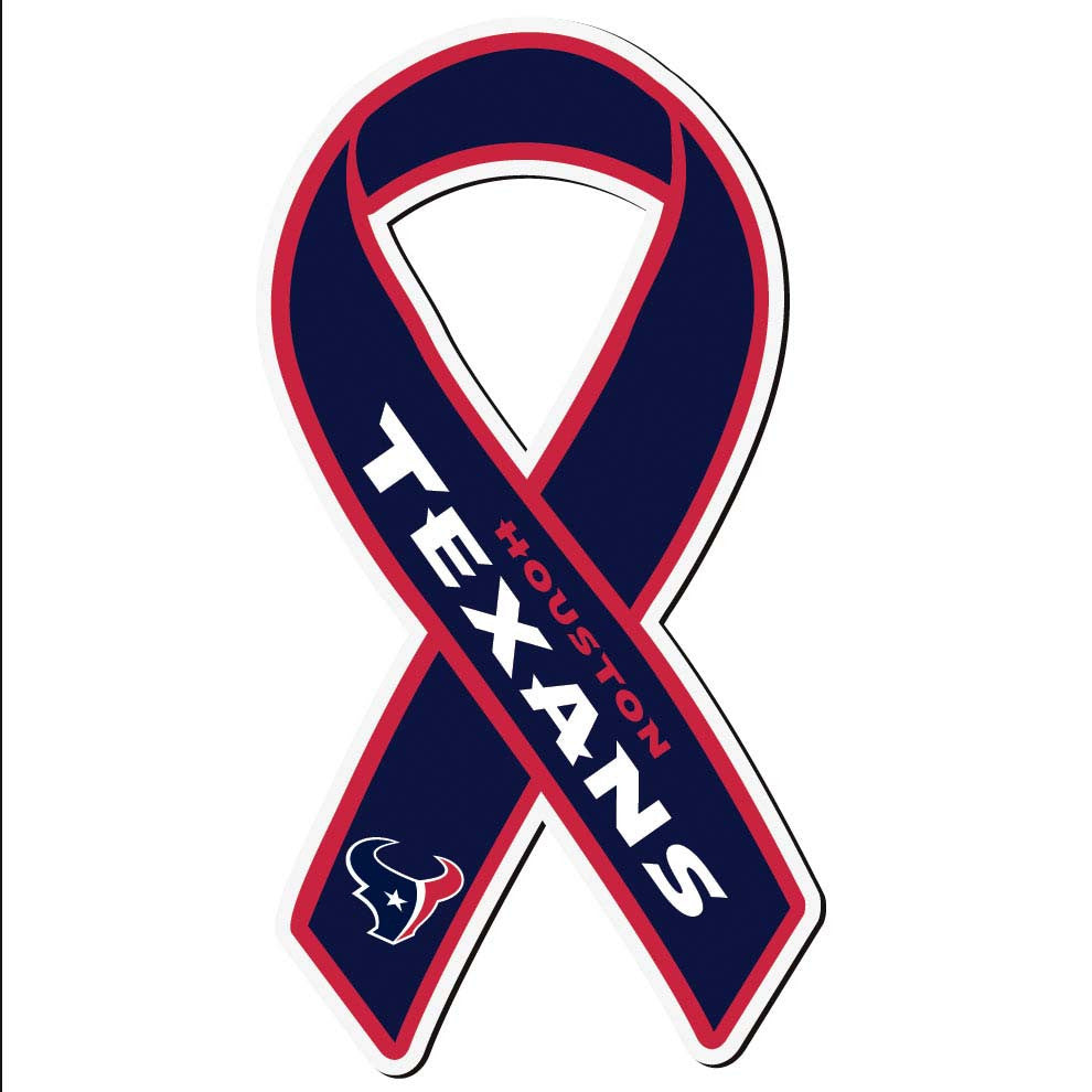 Houston Texans Ribbon Magnet