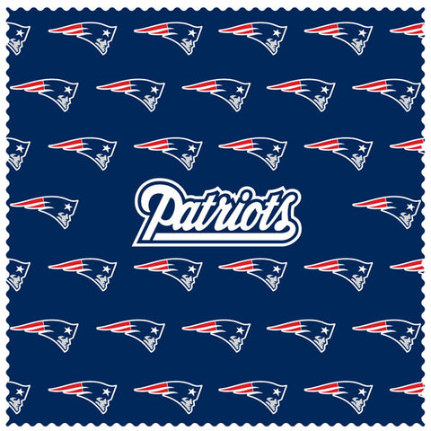 New England Patriots Microfiber Cleaning Cloth