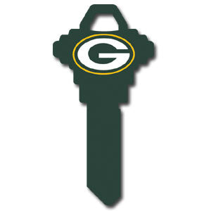 Schlage NFL Key - Green Bay Packers