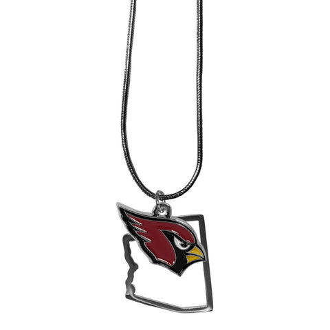 Arizona Cardinals State Charm Necklace