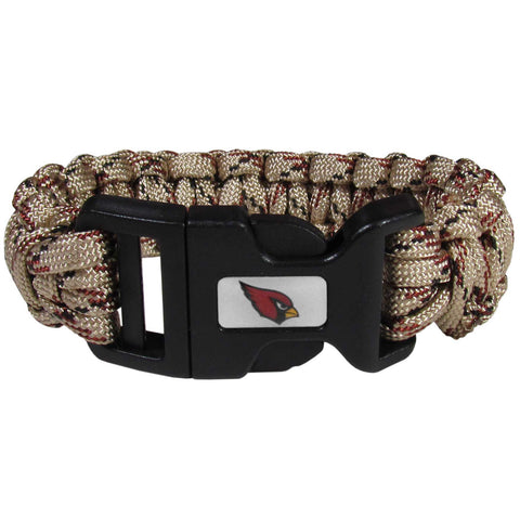 Arizona Cardinals Camo Survivor Bracelet - FSUB035TC
