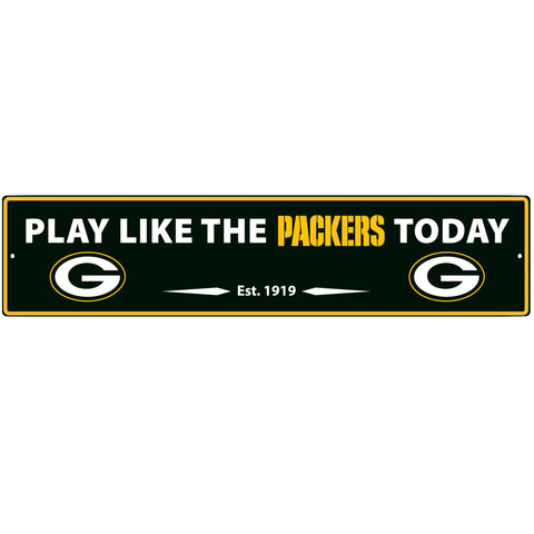Green Bay Packers Street Sign Wall Plaque