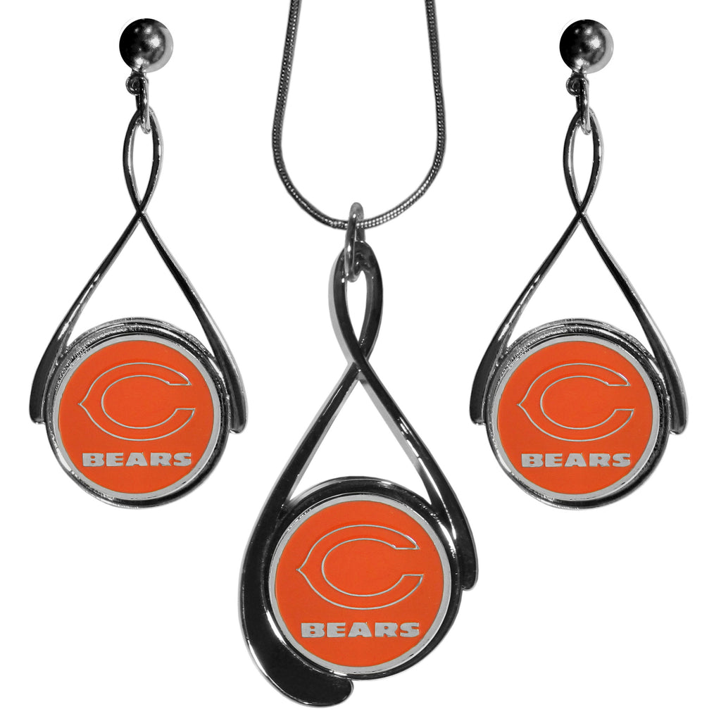 Chicago Bears Tear Drop Jewelry Set