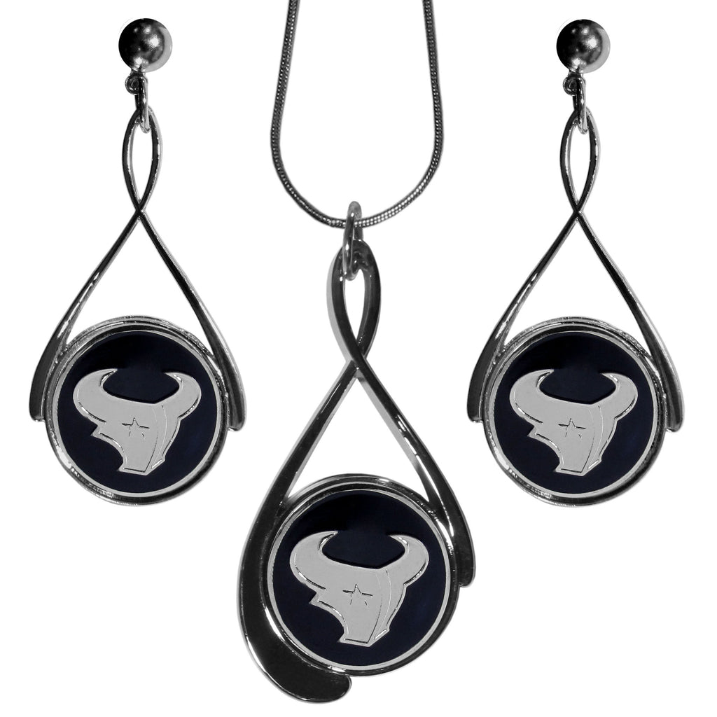 Houston Texans Tear Drop Jewelry Set