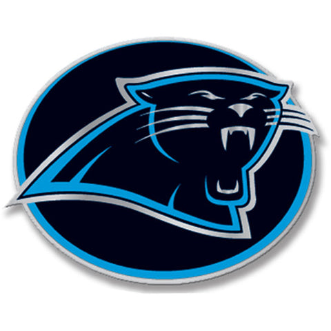 Carolina Panthers Hitch Cover Class III Wire Plugs