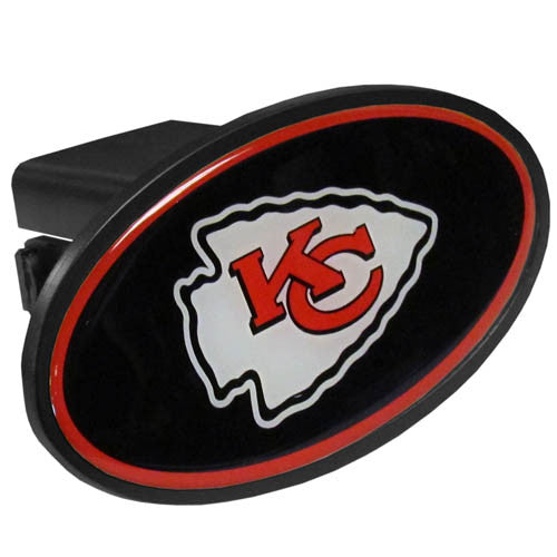 Kansas City Chiefs Plastic Hitch Cover Class III