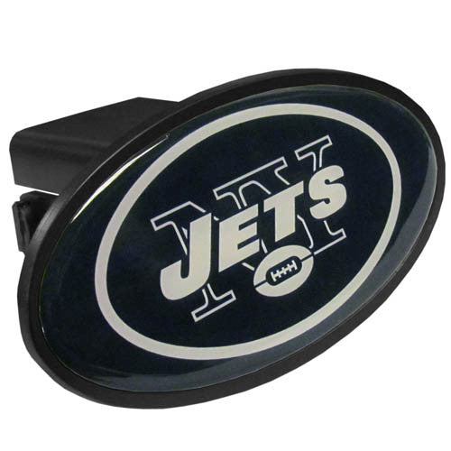 New York Jets Plastic Hitch Cover Class III
