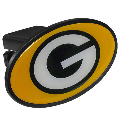 Green Bay Packers Plastic Hitch Cover Class III