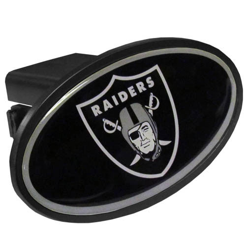 Oakland Raiders Plastic Hitch Cover Class III