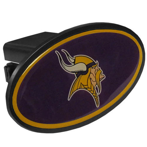 Minnesota Vikings Plastic Hitch Cover Class III