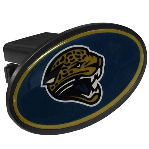 Jacksonville Jaguars Plastic Hitch Cover Class III
