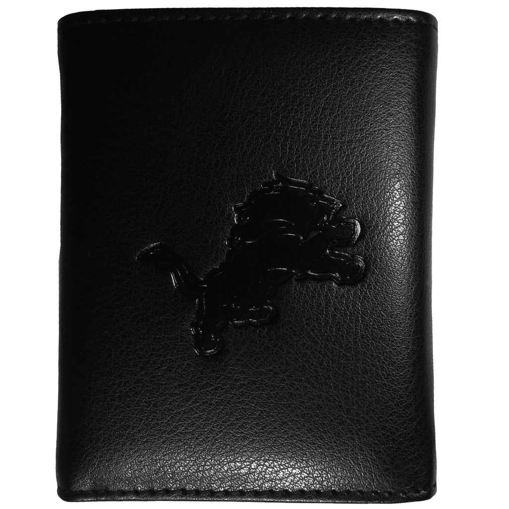 Detroit Lions Embossed Tri-fold Wallet