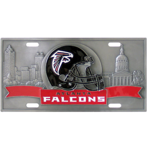 Atlanta Falcons Collector's License Plate