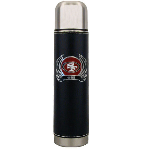 San Francisco 49ers Thermos with Flame Emblem