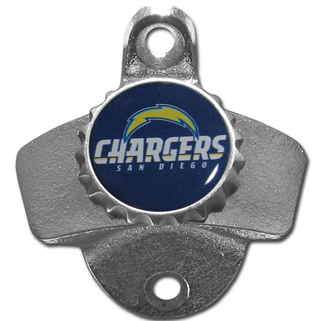 San Diego Chargers Wall Mounted Bottle Opener