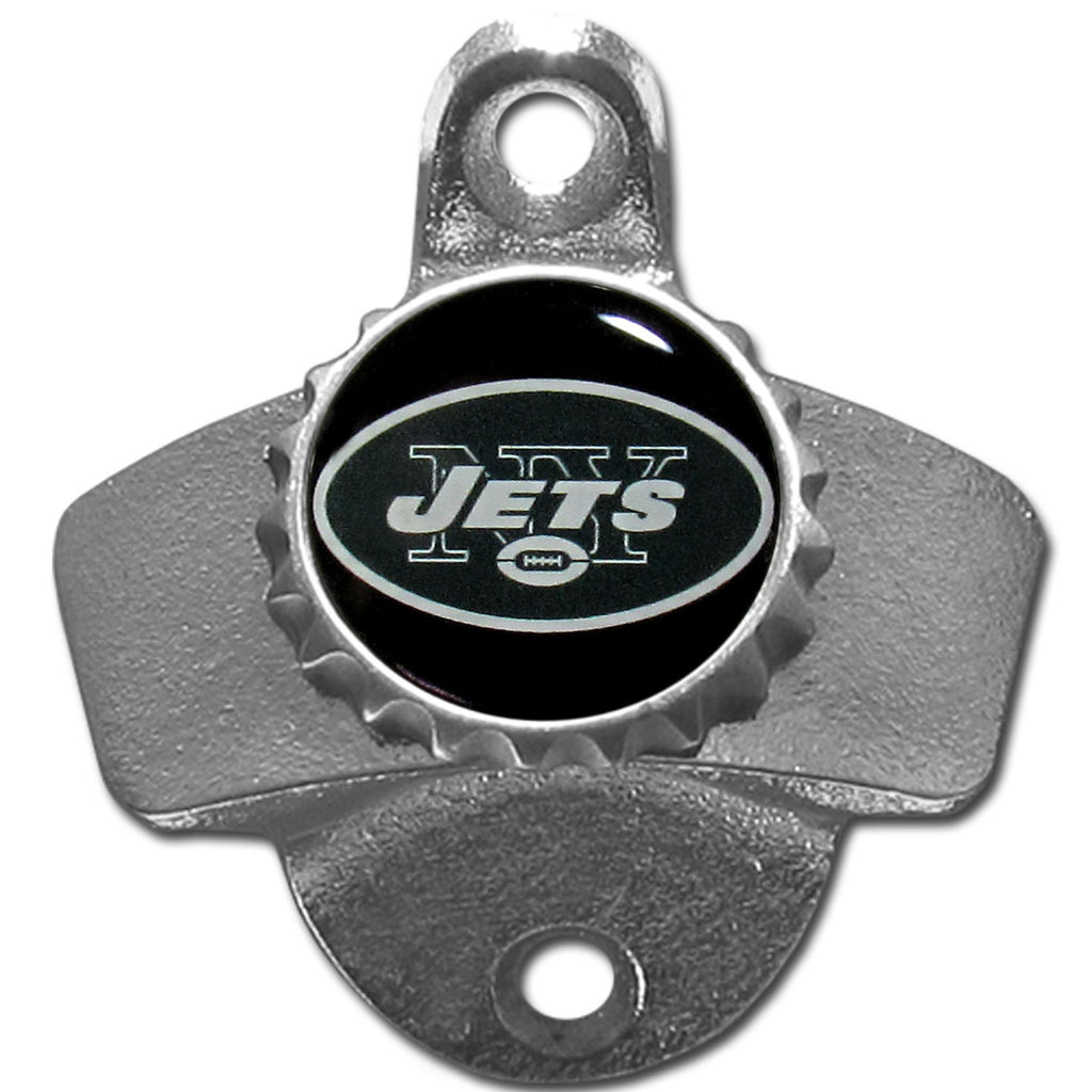 New York Jets Wall Mounted Bottle Opener
