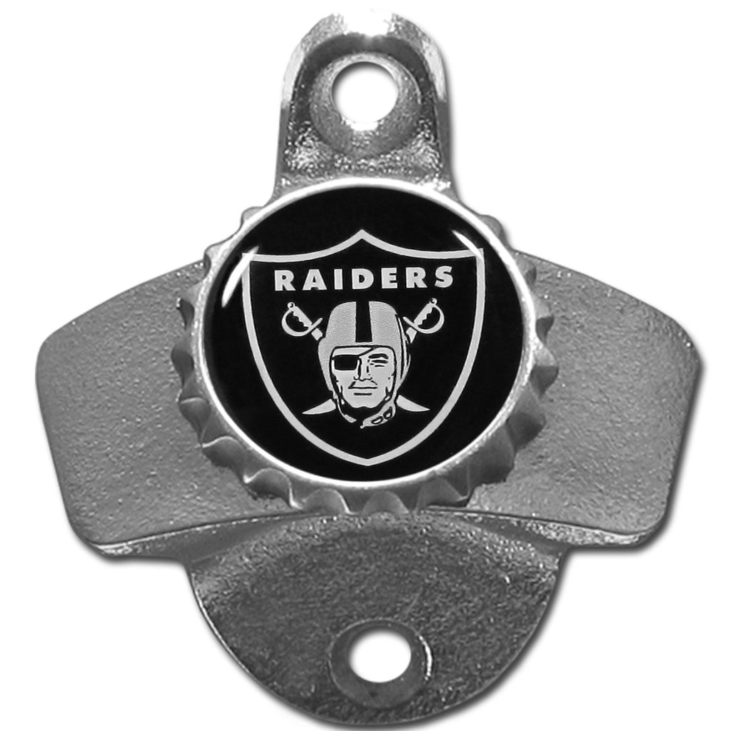Oakland Raiders Wall Mounted Bottle Opener
