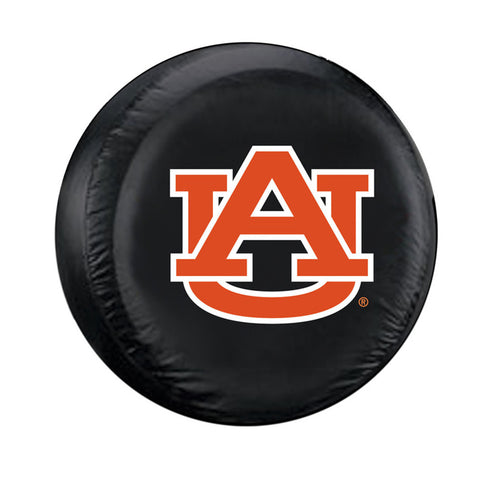 Auburn Tigers NCAA Spare Tire Cover (Standard) (Black)