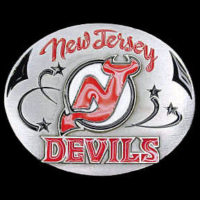 New Jersey Devils® Team Belt Buckle