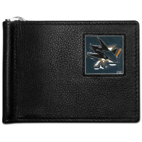 San Jose Sharks® Leather Bill Clip Wallet
