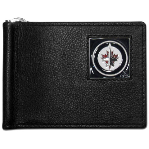 Winnipeg Jets™ Leather Bill Clip Wallet