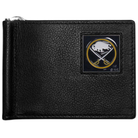 Buffalo Sabres® Leather Bill Clip Wallet