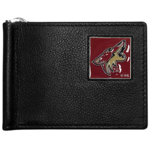 Arizona Coyotes® Leather Bill Clip Wallet