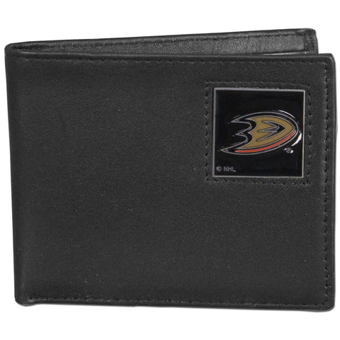 Anaheim Ducks® Leather Bi-fold Wallet