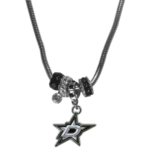 Dallas Stars™ Euro Bead Necklace