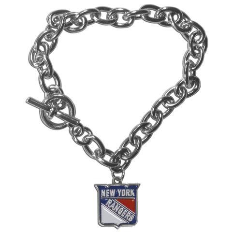 New York Rangers® Charm Chain Bracelet