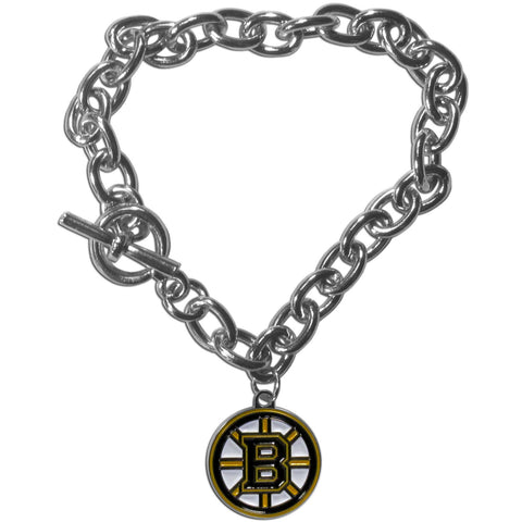 Boston Bruins® Charm Chain Bracelet