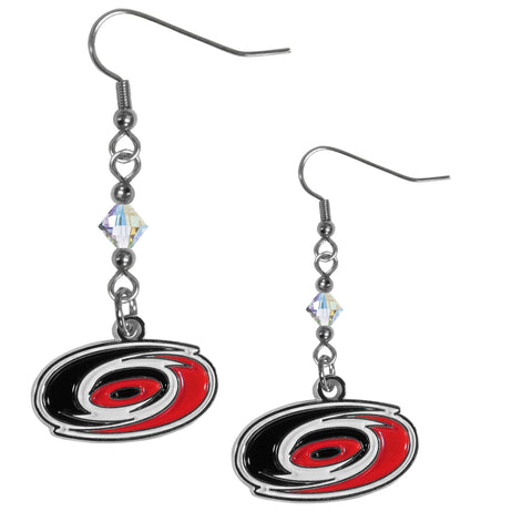 Carolina Hurricanes® Crystal Dangle Earrings