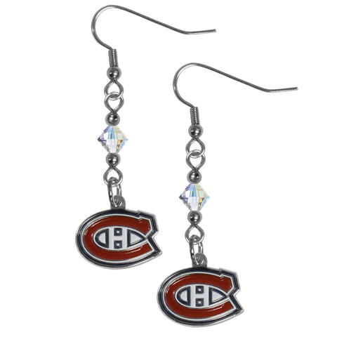Montreal Canadiens® Crystal Dangle Earrings