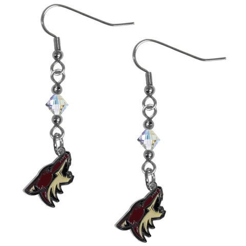 Arizona Coyotes® Crystal Dangle Earrings