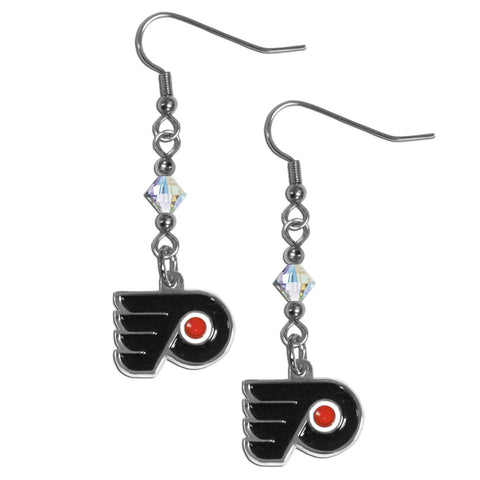 Philadelphia Flyers® Crystal Dangle Earrings