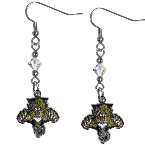 Florida Panthers® Crystal Dangle Earrings