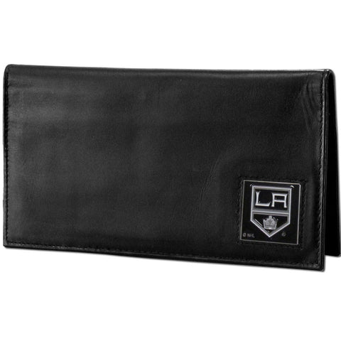 Los Angeles Kings® Deluxe Leather Checkbook Cover