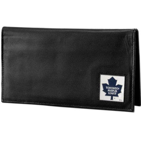 Toronto Maple Leafs® Deluxe Leather Checkbook Cover