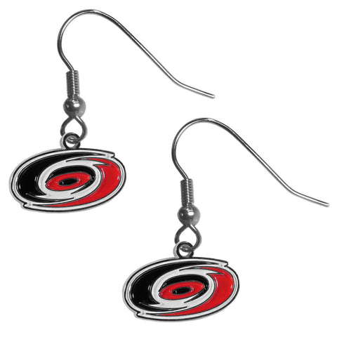 Carolina Hurricanes® Chrome Dangle Earrings