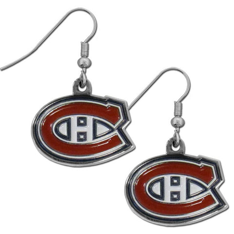 Montreal Canadiens® Chrome Dangle Earrings