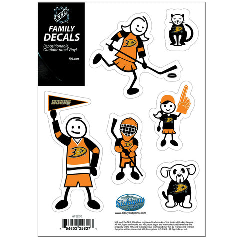 Anaheim Ducks® Family Decal Set Small