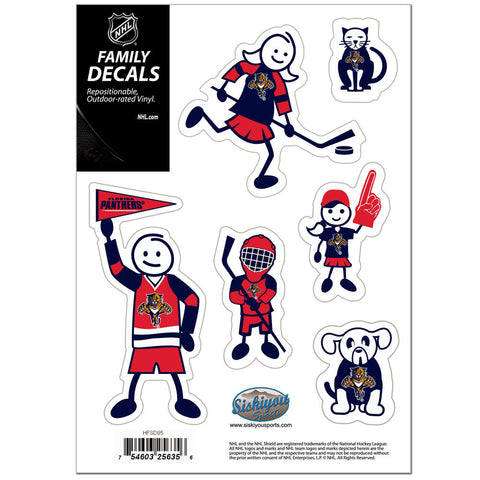 Florida Panthers® Family Decal Set Small