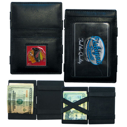 Chicago Blackhawks® Leather Jacob's Ladder Wallet