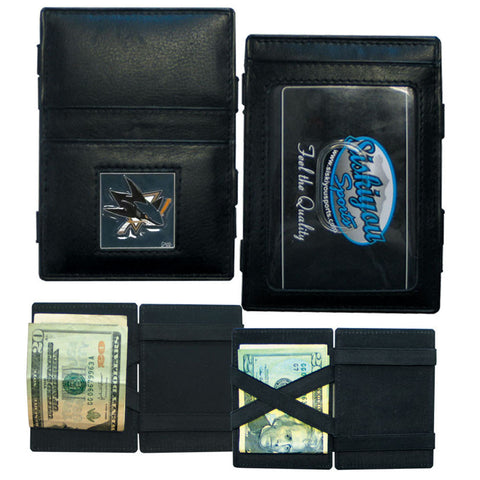 San Jose Sharks® Leather Jacob's Ladder Wallet